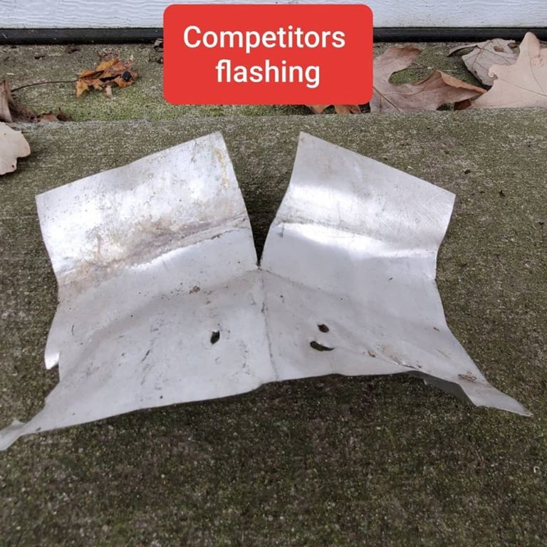 Cheap flashing causes roof leaks (7)
