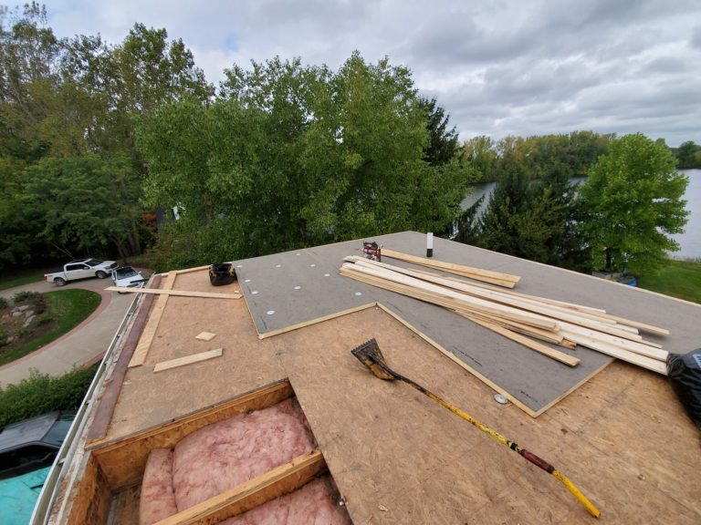 Residential Flat Roof Installation South Lyon Michigan