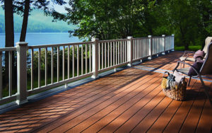 New Trex Deck Installation in Flat Rock Michigan